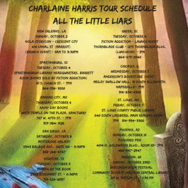 Tour Schedule 2016