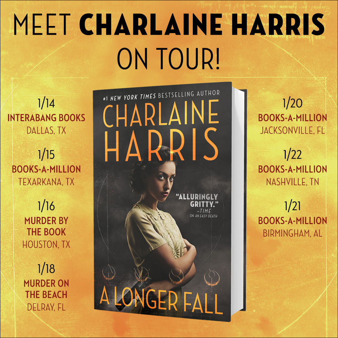 Charlaine on Tour for 'A Longer Fall'
